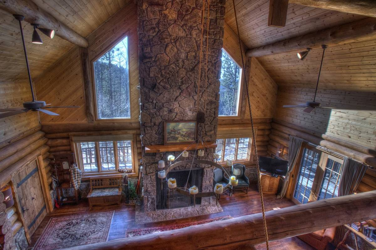 Stone Lodge Living Room